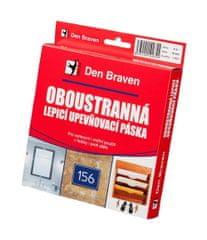 Den Braven Oboustranně lepící upevňovací páska v krabičce 15mmx1mmx10