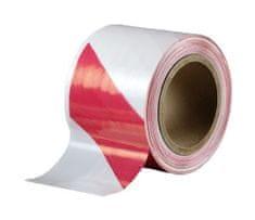 Den Braven Páska bariérová červeno-bílá 100mm 100m