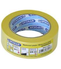SPOKAR maskovací páska interiérová 48mmx50m - 24h / 60 ° C