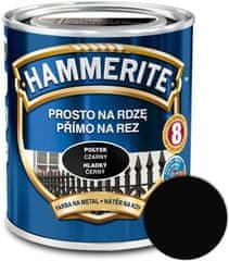HAMMERITE Přímo na rez Hladký černý 2,5l
