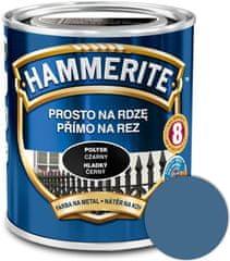 HAMMERITE Přímo na rez Hladký modrý 2,5l