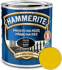 HAMMERITE Přímo na rez Hladký žlutý 0,25l