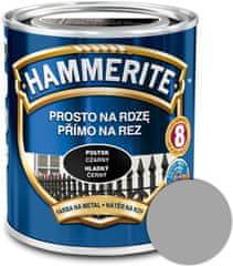 HAMMERITE Přímo na rez Hladký stříbrný 2,5l