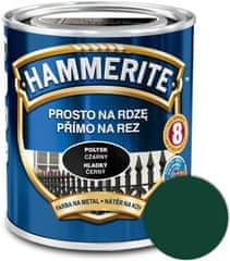 HAMMERITE Přímo na rez Hladký tmavozelený 0,25l