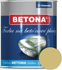 Chemolak U2043 Beton 2125 okrová 0,75l - barva na beton