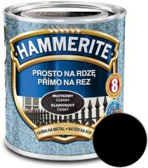 HAMMERITE Přímo na rez Kladivkový černý 0,25l
