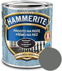 HAMMERITE Přímo na rez Kladivkový šedý 0,25l