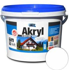 HET Akryl mat 0100 3kg bílá