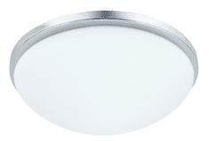LUXERA Stropné prisadené svietidlo PERI 49001 chrómové