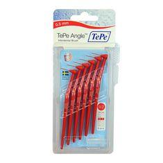 Tepe TePe Angle 0,50 mezizubní kartáčky červené 6 ks