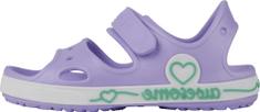 Coqui sandały dziewczęce Yogi Lt. lila/White 8861-406-0232