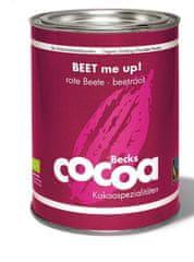 Becks Cocoa BIO rozpustná čokoláda s červenou řepou, 250g plech