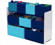 bHome Organizér na hračky Modrý