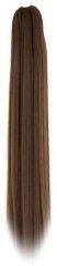 Vipbejba Syntetický culík se skřipcem, rovný, čokoládově hnědý F3