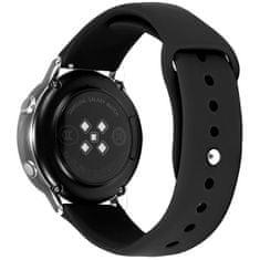 4wrist Silikonový řemínek pro Samsung Galaxy Watch - Black 22 mm