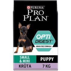 Purina Pro Plan karma dla psów Pro Plan Small&Mini Puppy Optidigest Grain Free 7 kg