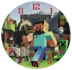 bHome Detské hodiny Minecraft 1
