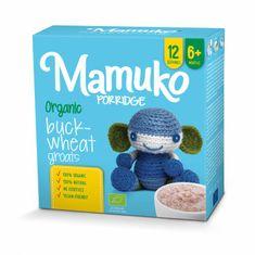 Mamuko Bio detská kaša hnedá pohánka 240g