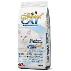 Monge Special Cat hrana za mačke, piščanec in puran, 7 kg
