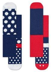 Happy Socks 2pack gyermek zokni Big Dot Anti-Slip Socks