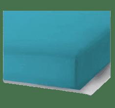 Bavlissimo Prostěradlo 180 x 200 cm tyrkysová