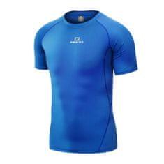 RANN tričko Compress Short Blue