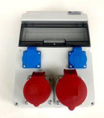 AEP Stavební rozvaděč AEP RSJ-0112, 1x32A 5P, 1x16A 5P, 2x 230V