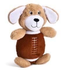Petproducts Plyšová hračka ve tvaru psa - 31x23 cm