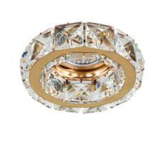 AZZARDO Zápustné bodové svietidlo Ester 1 gold AZ1450 zlaté