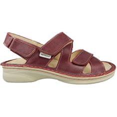 ORTO Plus Vínové sandále