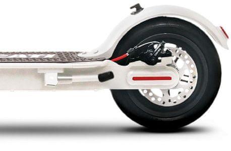 Hulajnoga elektryczna Ducati PRO-I składana konstrukcja wysoka wydajność tryby jazdy zabezpieczenie przed defektami opony bezdętkowe tempomat wyświetlacz LCD stalowa konstrukcja prędkość 25 km zasięg 25 km światła LED moc hulajnogi elektrycznej 350 W stylowa hulajnoga czerwono-czarny design IPX4 100 kg tylny hamulec tarczowy przedni elektroniczny