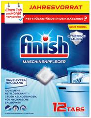 Finish Kapsle na čištění myčky 12 ks
