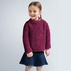 MAYORAL Hrejivý svetrík pre dievčatá , 5 rokov Bordová