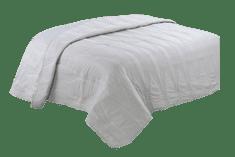 Bavlissimo Přehoz na postel prošívaný jednobarevný šedá 200 x 240 cm