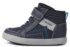 Geox Fiú bélelt magasszárú sportcipő Gisli B161NB 054AU C4231