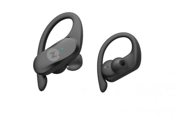 modern sportos vezeték nélküli bluetooth fülhallgató intezze move víz- és izzadságálló füldugó kényelmes mikrofonok mems handsfree funkció érintésvezérlés