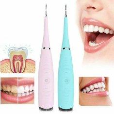BEMI INVEST Ultrazvukový čistič zubů Barva: Zelená