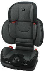 MIGO Autosedačka SYDNEY EASYFIX (15-36kg) 2021 BLACK GREY