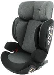 MIGO Autosedačka MIRAGE EasyFix (15-36kg) 2021 BLACK GREY