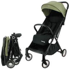 Nania športni otroški voziček ORLA 2021 BLACK KAKI