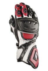AKITO Moto rukavice SPORTMAX M červené