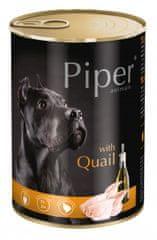 Piper Dolina Noteci mokra hrana za pse, prepelica, 400 g, 24/1