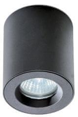 AZZARDO Koupelnové stropní bodové přisazené svítidlo Aro black AZ2558 černé