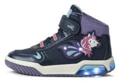 Geox Inek J16ASC 0CENF C4002 magasszárú, világító lány sportcipő
