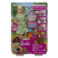 Barbie Zabava s kužkom set s plastelinom
