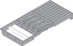 Blum ZC7M0200, AMBIA-LINE DRŽIAK NOŽOV, ŠEDÝ, 450MM