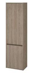 CERSANIT CERSANIT - CREA vysoká skrinka, dub, S924-024