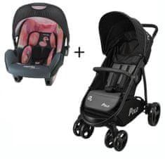 Nania Polo voziček + Beone avtosedež (0–13 kg)