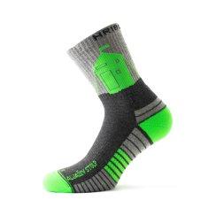 Hribovc.si Pohodne nogavice Aljažev stolp - zelene