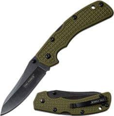 TAC FORCE Zatvárací nôž Lockback Green G10 (TF962GN)